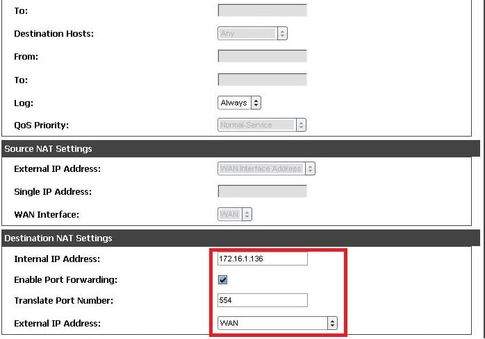 Setting Port Forwarding (Virtual Server) on D-Link routers